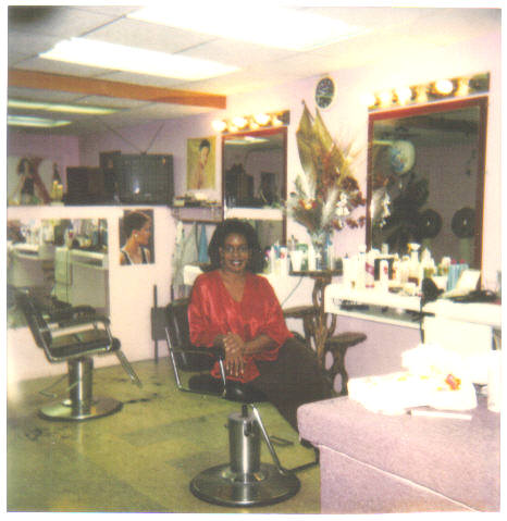 woman salon photo